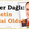Milletvekili Dağlı'dan AK Parti'nin 16. kuruluş yıl dönümü mesajı