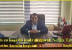Yılın en başarılı işadamı olarak Nergiz Tarım yönetim kurulu başkanı Ali NERGİZ Seçildi..