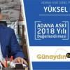 Adana ASKİ Genel Müdür Yardımcısı Yüksel Durna Adana ASKİ 2018 Yılı Değerlendirmesi…