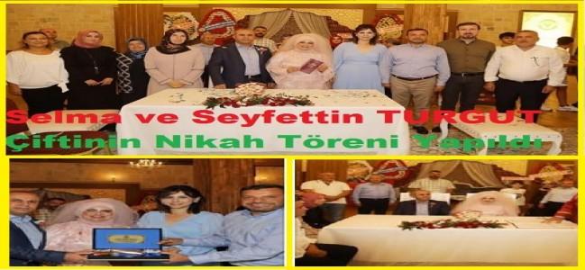 Adananın Tanınmış Avukatı Seyfettin TURGUT Muhteşem bir düğünle, dünya evine girdi.