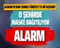 Aksaray'da son dakika koronavirüs alarmı çalışanlara maske dağıldı