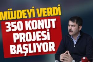 Murat Kurum Elazığ'da açıkladı! 350 konutluk bir projemiz var