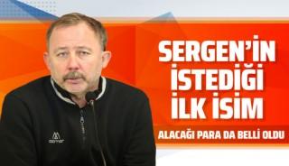 Sergen Yalçın'ın Beşiktaş'a istediği ilk oyuncu