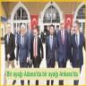 Bir ayağı Adana'da bir ayağı Ankara'da